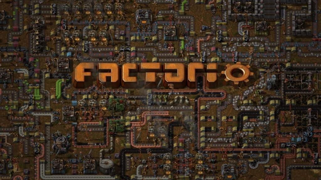 ファクトリオのトップ画面
