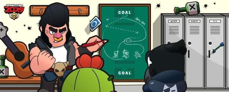 ブロスタのブルとスパイクとクロウが戦略を練っている所