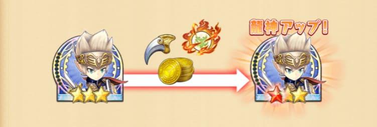 ドラコロの龍神覚醒システムのヘルプ